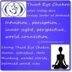 third eye chakra crystalline light