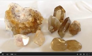 Fake Citrine VS Natural Citrine Crystals