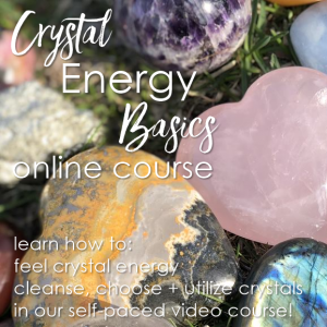 Crystal Energy Basics online course