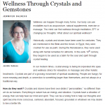 Crystals for Wellness