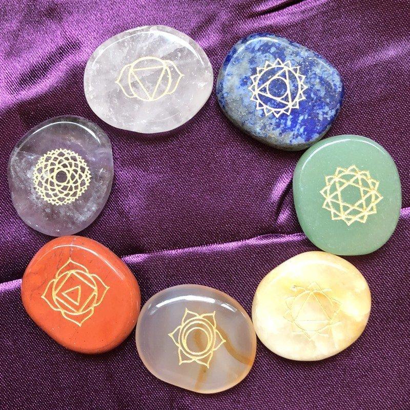 Chakra Crystal Set Crystalline Light