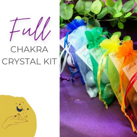 Full Chakra Crystal Healing Set