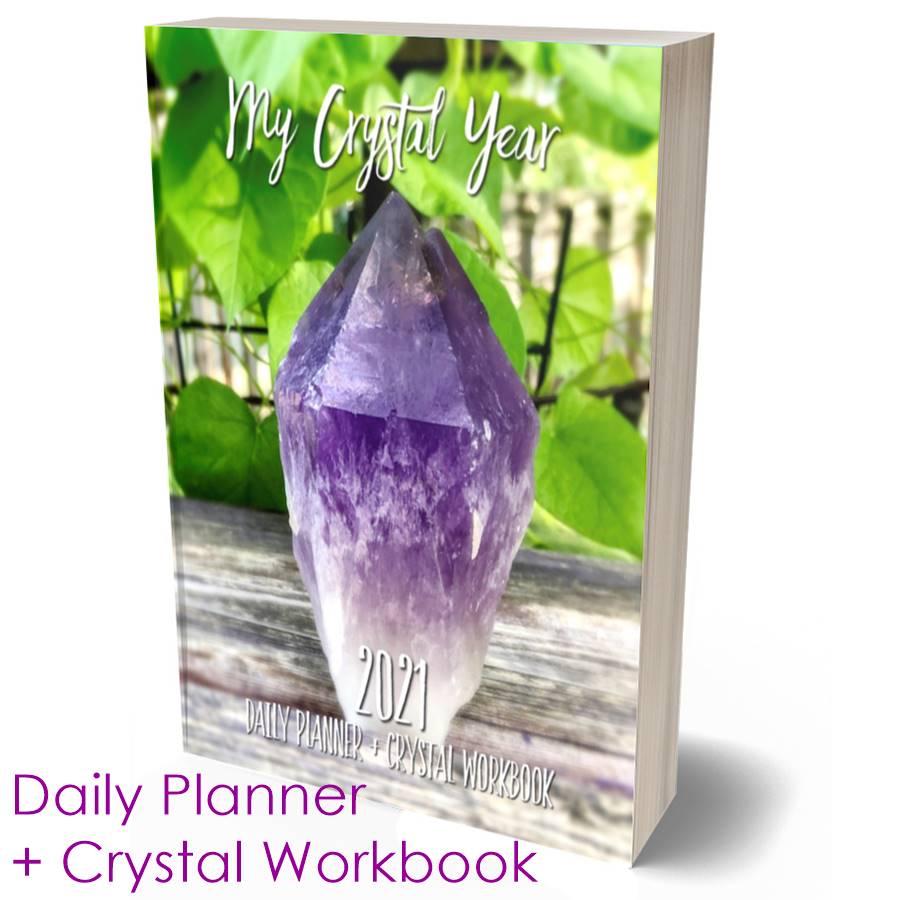 2021 My Crystal Year Daily Planner + Crystal Workbook