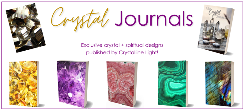 Crystal journals blank books planners notebooks composition books crystal healing healing crystals