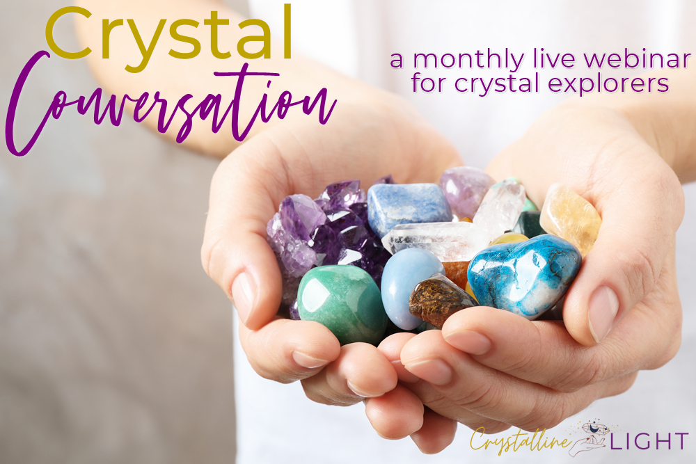 Crystal Conversation live webinar