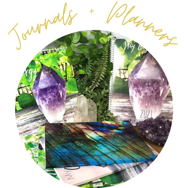 journals and planners at crystallinelight.com